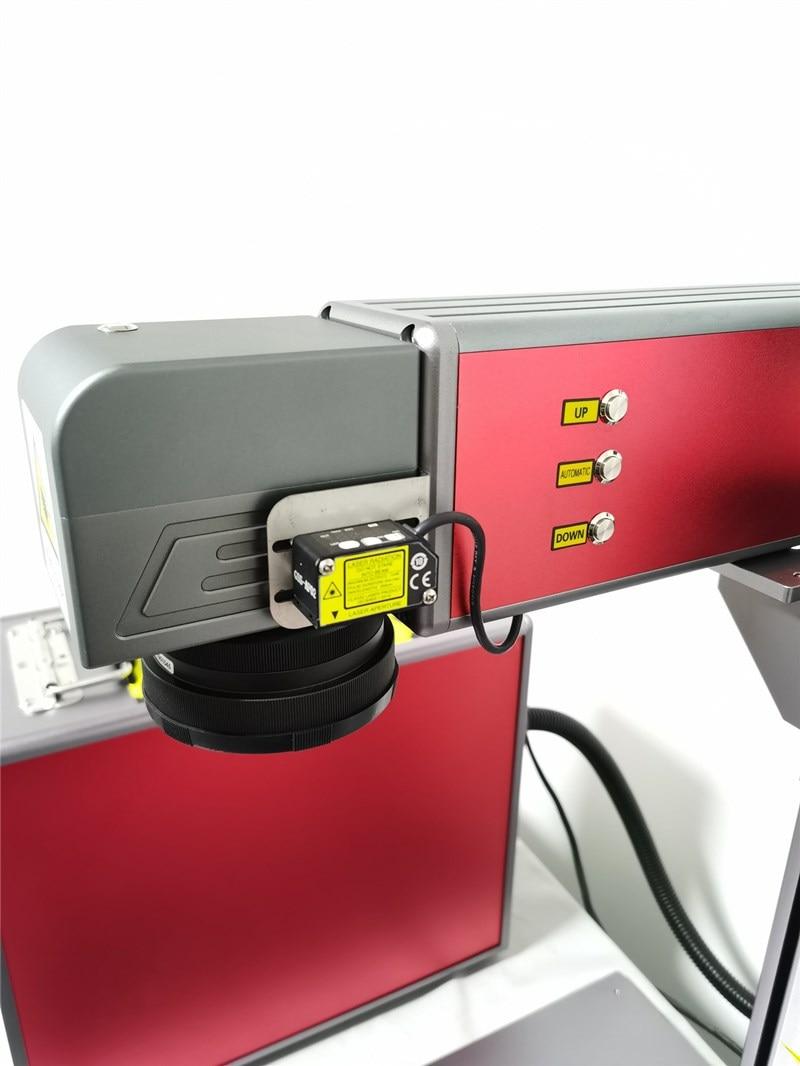50W Split Fiber Laser Marking Machine With High Quality 110mm150mm Field Lens 2