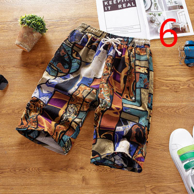 Tide Brand Shorts Men's Summer New Korean Version Of Five Pants Loose Large Size Trend Wild