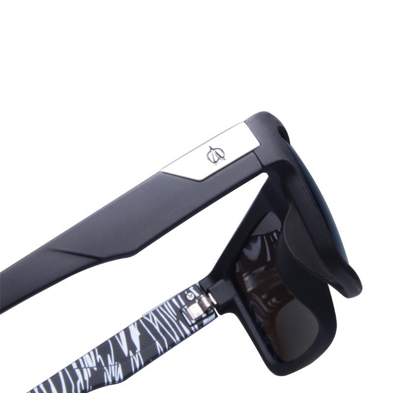 Image 5 - VIAHDA ブランドのデザイン偏光サングラス男性ドライバーシェード男性ヴィンテージ男性 Spuare ミラー夏 UV400 Oculosサングラス   -