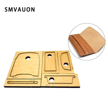 Classic fashion long wallet cutting die punching steel card bag straight mold leather wallet cutting die wood mold tool