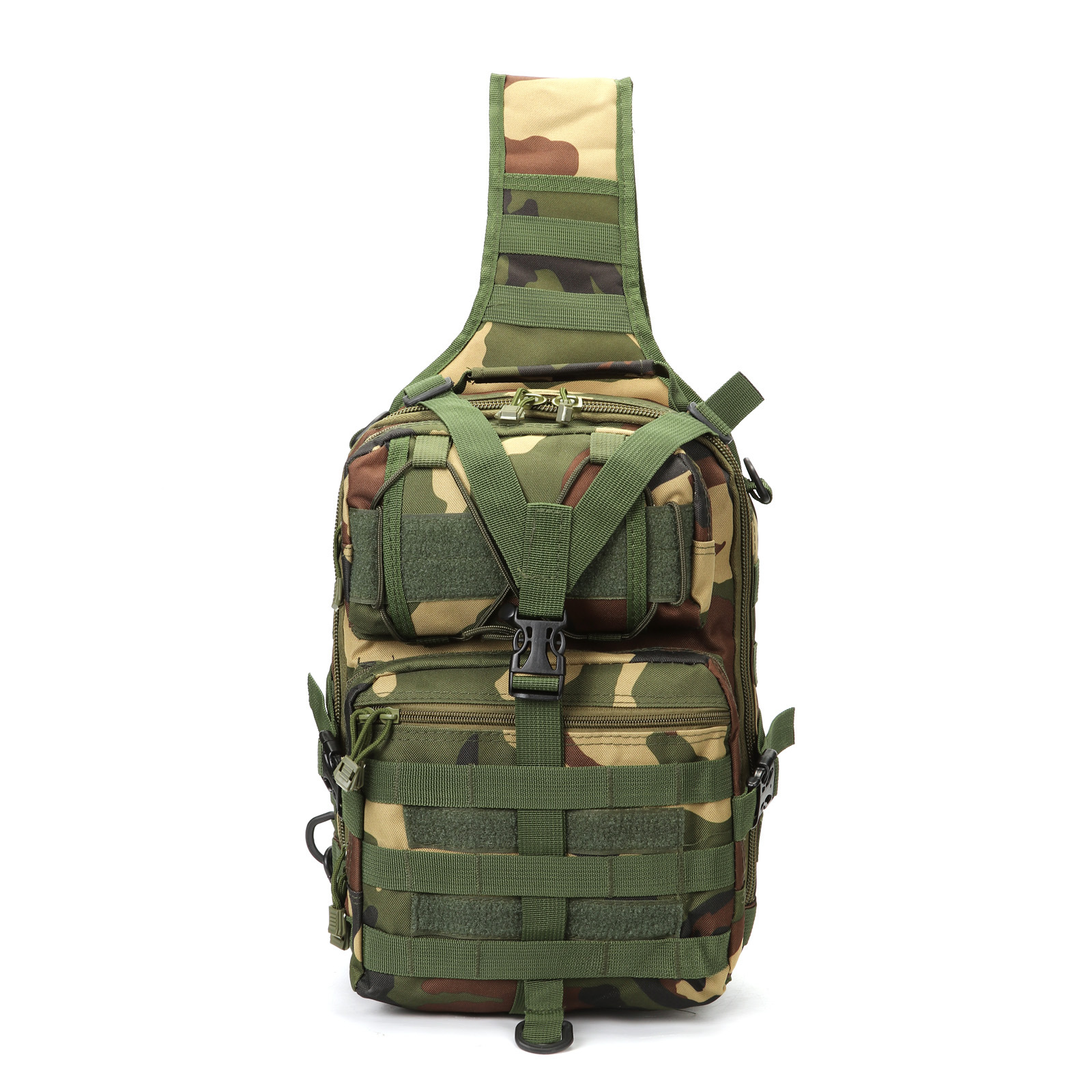 Outdoor Tactical Mountaineering Bag Mantis Moth Saddle Bag Chest Bag Army Fans Camouflage Tactical Shoulder Bag Manufacturers Di