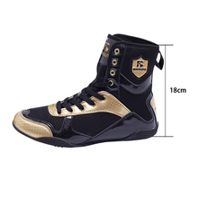 Fighting-Shoes Boxing-Wrestling Training-Boxing Professional Men Wearable High-Top Male