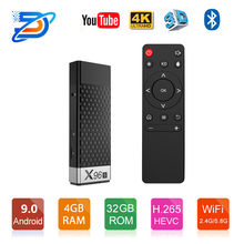 Android X96s TV Stick & Android 9.0 Tampilan Dongle Quad Core Amlogic S905Y2 WiFi 4G Ram 32GB ROM bluetooth Smart TV Box(China)