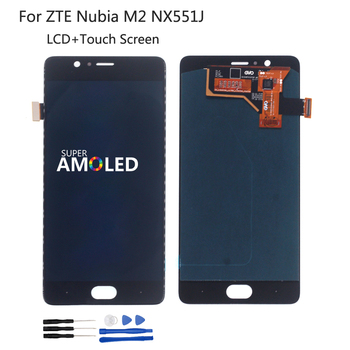 Original For ZTE Nubia M2 NX551J  LCD Display Touch Screen Digitizer Repair Parts Assembly