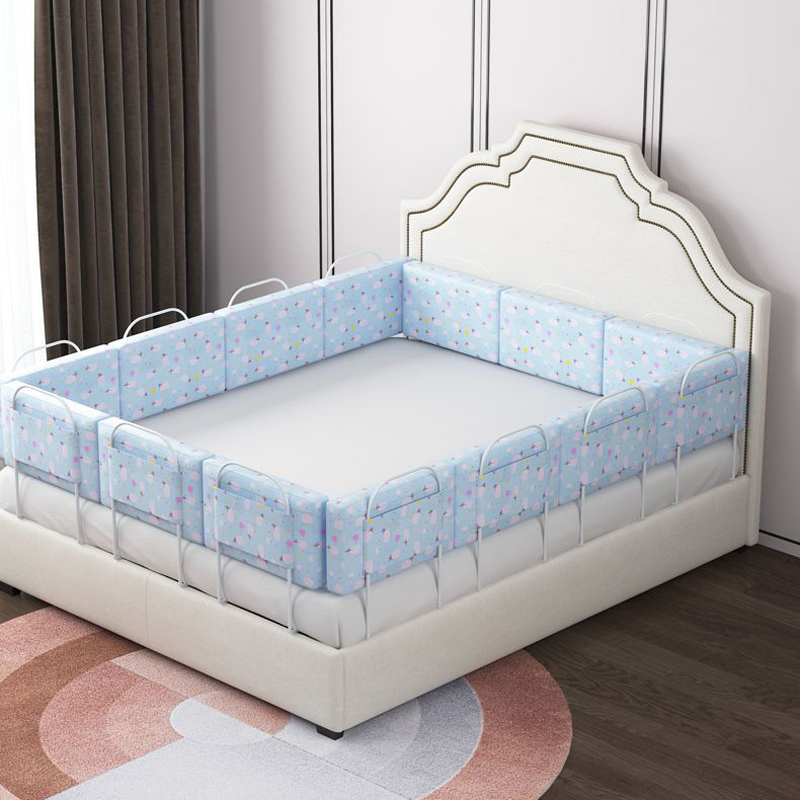 Adjustable Baby Bed Fence Safety Playpen Kids Vertical Lift Crib Rails Infants Safety Gate Crib Barrier Children Guardrail