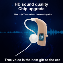 Soroya Digital Rechargeable Hearing Aid Mini BTE Ear Sound Amplifier Enhancer Portable Wireless Ear Care Made in China