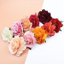 10 см 50 шт искусственные головки розы украшения дома аксессуары