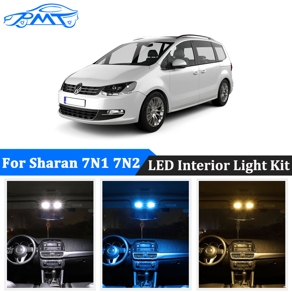 BMT 23x Car <font><b>Led</b></font> Interior Door Footwell Lights <font><b>Canbus</b></font> For Volkswagen <font><b>VW</b></font> Sharan 7N 7N1 7N2 2011 2012 2013 2014 2015 2016 2017 2018 image