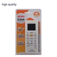 Condicionador de ar ar condicionado universal controle remoto adequado para toshiba panasonic sanyo nec fujitsu lg aux KT 9018e
