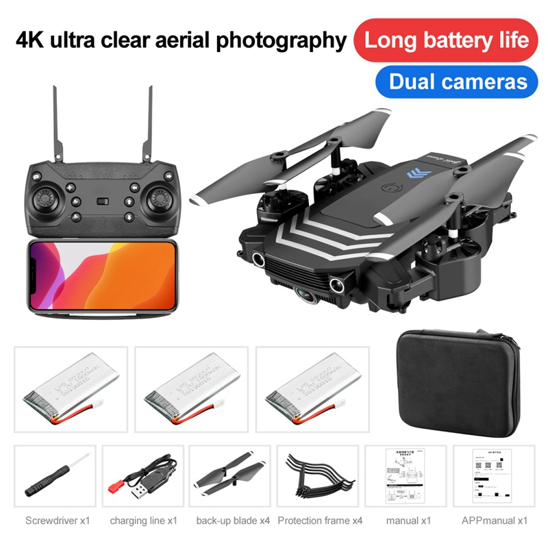 Drone 4k rc Helicopter Toy Quadcopter drones with camera hd RC drones GPS Dron with Camera profissional Drone gps helicopter Toy