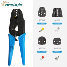 HS-30J  5 in 1MINI EUROP STYLE crimping pliers die sets for A35WF A1016 A26TW AV-03B 4 jaws tool kit