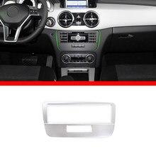 Para mercedes benz glk classe x204 glk300 glk260 2013-2015 interior do carro console central modo de voz painel capa guarnição acessórios