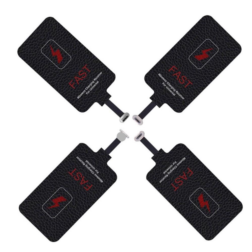Приемник беспроводного зарядного устройства Qi 10 Вт 5 В/2 А, приемник для iphone, Xiaomi, Samsung, Универсальный коврик-адаптер для беспроводной зарядки