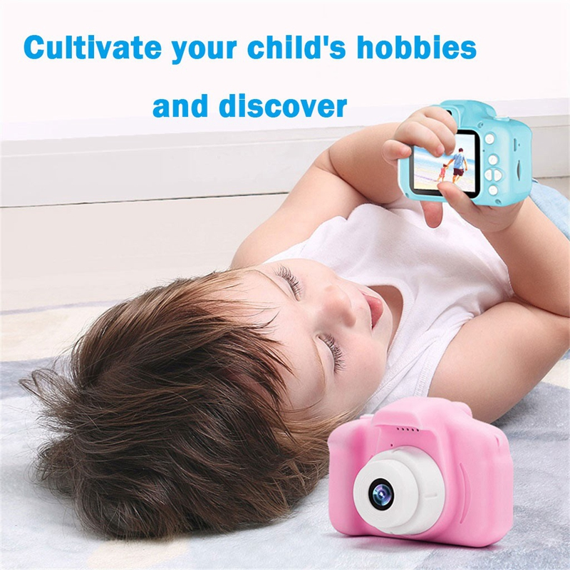 Children Digital Camera USB Rechargeable 2.0 LCD Mini Camera HD 1080P Kids Sports Cameras Baby Growth Memorial New Souvenir Gift