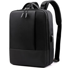 2019 New Shoulder Bag Man Business Computer Bag Simple Fashion Large-capacity Travel Bag Laptop Backpack Anti Theft Backpack(China)