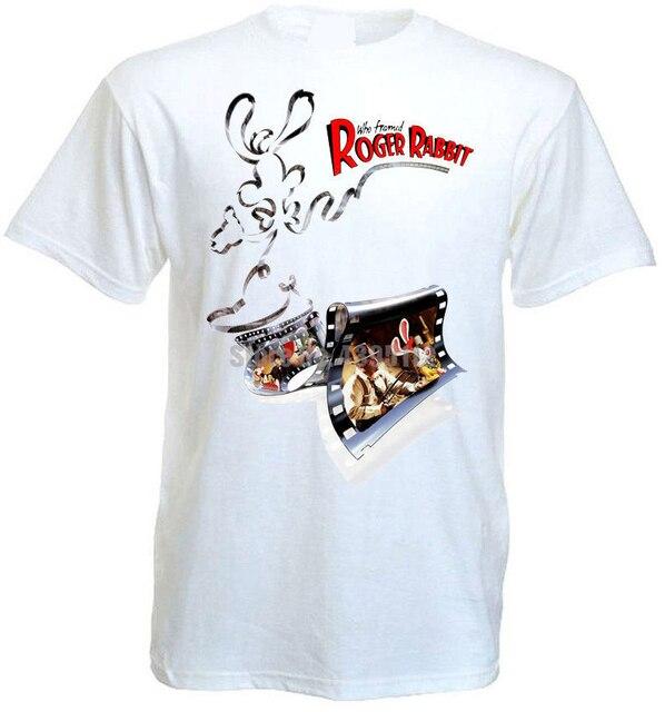 Кто подставил Роджер кролик фильм плакат для мужчин Группа Футболки Satanism футболки унисекс модные футболки лайки рубашки пожарная команда ...