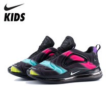 Nike Air Max 720 Kids Shoes Original New Arrival Children Running Shoes Comfortable Sports Air Cushion Sneakers #AO9294-009(China)