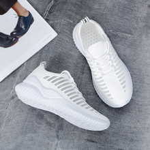 2020 Women Sneakers Mesh Breathable Women Casual Shoes Woman Flat Sneakers Ladies Air Cushion Women Shoes New Fashion Summer 2020 fashion woman casual running flat shoes breathable sneakers sport women new arrivals fashion mesh sneakers flat shoes women