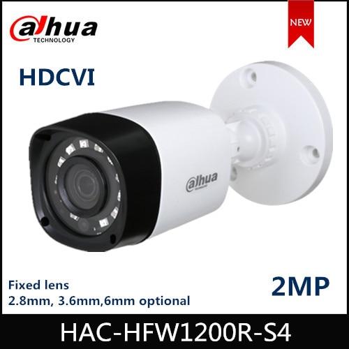 "Dahua 2MP HDCVI Camera IR 20m Bullet Camera HAC-HFW1200R-S4 1/2.7"" CMOS Image Sensor Security Camera"