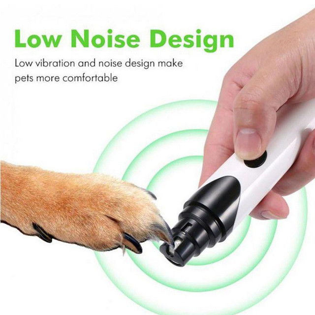 Rechargeable Nails Dog Cat Care Grooming USB Electric Pet Nail Grinder Trimmer Clipper Pets Paws Nail Cutter tondeuse chien #15