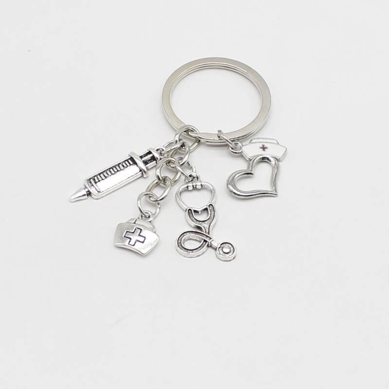 1 medical keychain nurse keychain graduation jewellery doctor gift graduation teacher gift