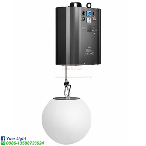 Image 2 - 3D yukarı aşağı kaldırma yüksekliği 0m 5m DMX RGB LED kaldırma topu Modern dalga etkisi renkli kinetik hafif kaldırma topu sahne DJ disko