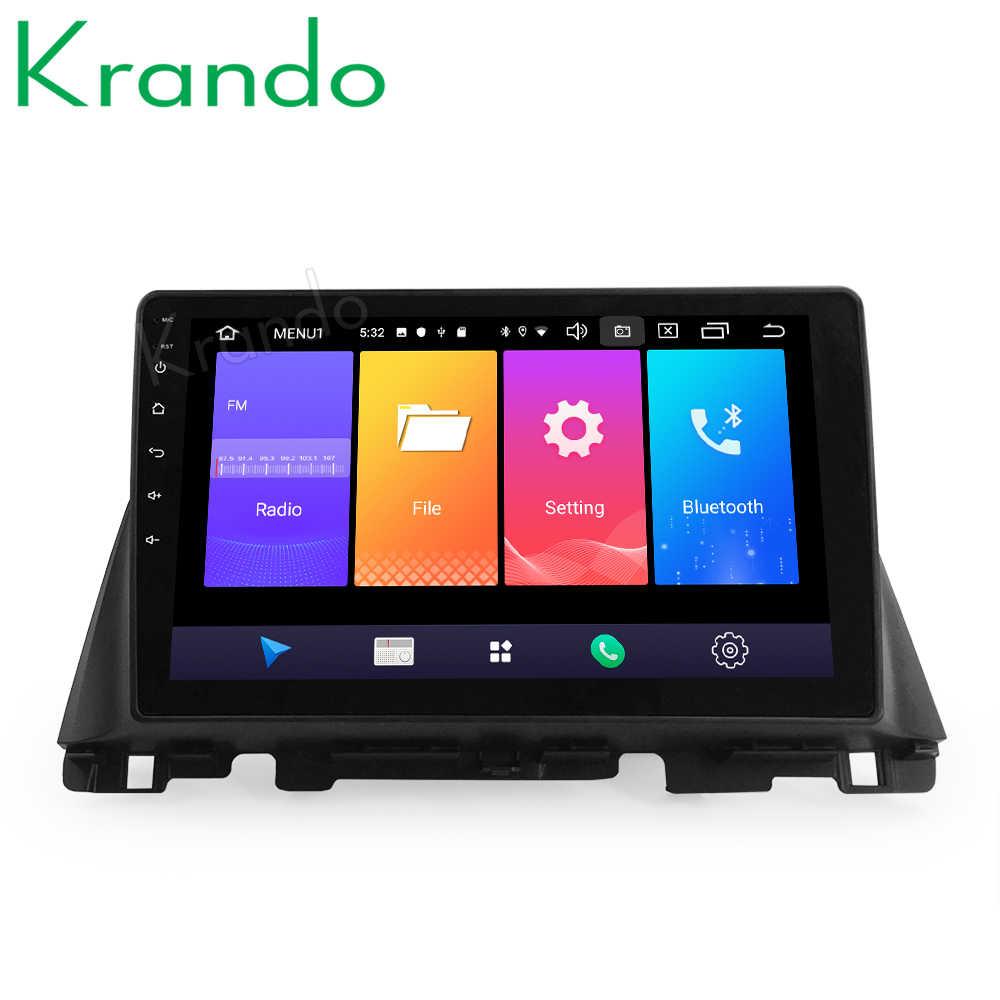 """Krando Android 10.0 9 """"IPS Full Cảm Ứng Đa Phương Tiện Phát Thanh cho Xe KIA K5 Optima 2015-2020 Âm Thanh DSP WIFI Navi Bluetooth Carplay"""
