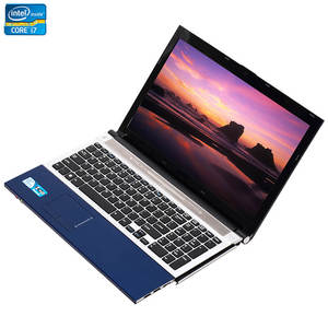 Image 2 - 15,6 дюймовый процессор Intel Core i7 8 ГБ ОЗУ 1 ТБ HDD Windows 7/10 система DVD RW RJ45 Wifi Bluetooth Функция быстрая работа ноутбук