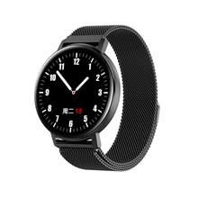 R18T tam dokunmatik ekranlı akıllı saat erkekler kadınlar IP68 su geçirmez kalp hızı kan basıncı monitörü akıllı bilezik çağrı Remin PK Y10