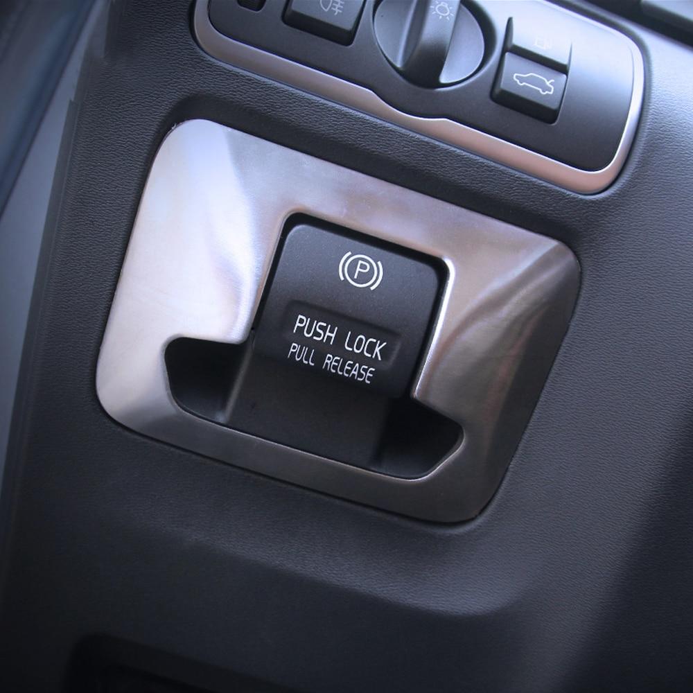 Стайлинг автомобиля, интерьер, электронный ручной тормоз, флейта, наклейка для клавиатуры Volvo XC60 X60 V60 S60 S80 2009-2015