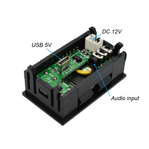 Image 2 - Lusya NEW MINI 0.96 Inch OLED Spectrum Display Analyzer dual channel Color music spectrum display module G4 003