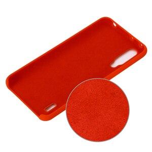 Image 2 - For Xiaomi Mi A3 CC9 CC9E Case Soft Liquid Silicon Cover for Xiaomi Redmi 7A K20 Note 7 Pro MiX 2 3 2S 8 9 SE A2 A3 Lite Case