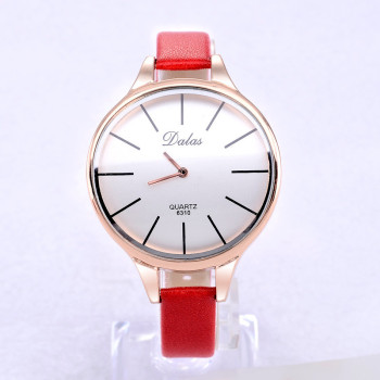 Dalas Watch Fashion Women Watches Ladies Watches Leather Strap Quartz Wristwatches Relogio feminino reloj mujer montre femme vintage fashion square watch blingbling crystals women dress wristwatches quality melissa quartz relogio feminino montre fs12173