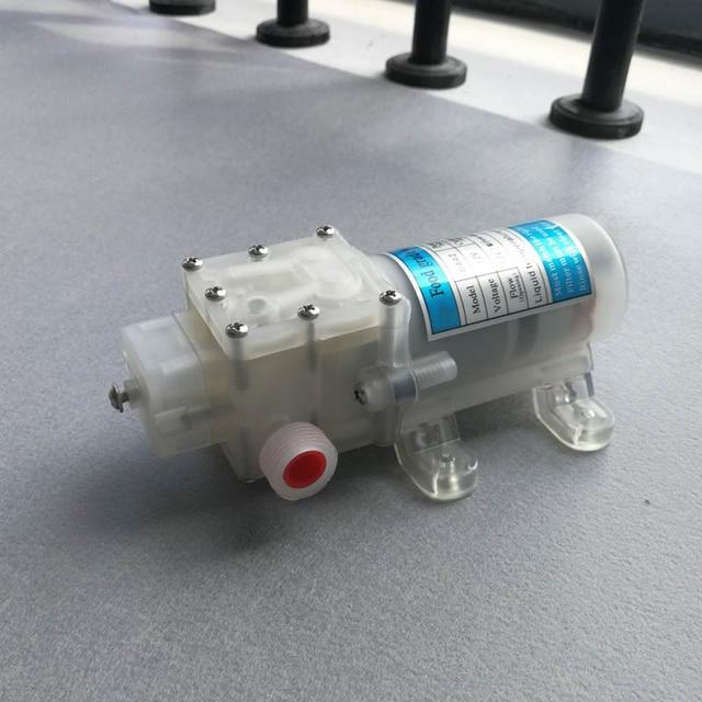Dc 12V 70W Food Grade Self Priming Diaphragm Water Pump with Switch Diaphragm Water Pump 6L/Min Self Priming Booster Pump
