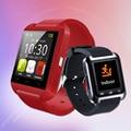 Смарт-наручные часы телефон mate Bluetooth V3.0 + EDR для iPhone IOS для samsung Android черный белый красный Синхронизация SMS/История звонков