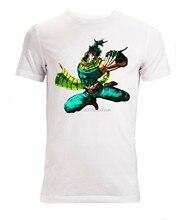 T-shirt homme blanc, Jojos Bizzare Adventure Battle Tendancy, james Joestar, (1)