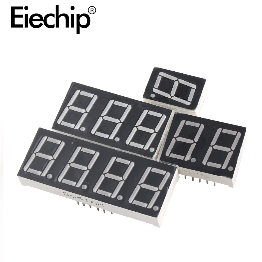 10pcs 0.4 Inch LED Display 7 Segment 1Bit 2Bit 3Bit 4Bit Tube Red Display Common Anode/Cathode 0.4