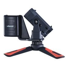 Портативный штатив Ulanzi для смартфона, держатель с зажимом для телефона, настольный Трипод для DJI OSMO, карманные аксессуары для PTZ камеры