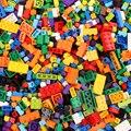 300-1200 шт Детские Классические строительные блоки совместимый набор креативная игра DIY колесо красочный кирпич Развивающие детские игрушки ...