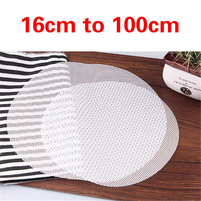 Alfombrilla antiadherente de silicona blanca para hornear Dim Sum, alfombrilla para cocina o restaurante, accesorios de utensilios para cocina