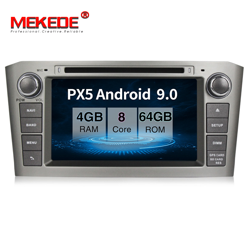 New product sales!<font><b>android</b></font> 9.0 Car multimedia Player for <font><b>Toyota</b></font> Avensis/<font><b>T25</b></font> 2003-2008 gps navigation 4GB RAM 64GB ROM radio navi image