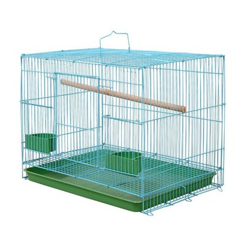 Wire Rectangular Bird Cage
