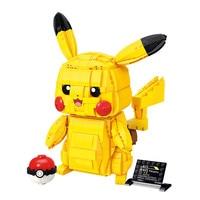 Creator Cartoon Anime Pokemon Pikachu Model Building Blocks Bricks Sets Classic Movie Dolls Model Kids Toys For Children Gift 1