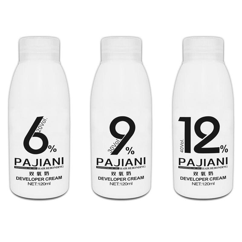 Dizuurstof Melk Haar Kleur Crème Bleken Poeder Creme Ontwikkelaar Geurloos H2o2 Oxidant 20vol 30vol 40 Vol 100Ml