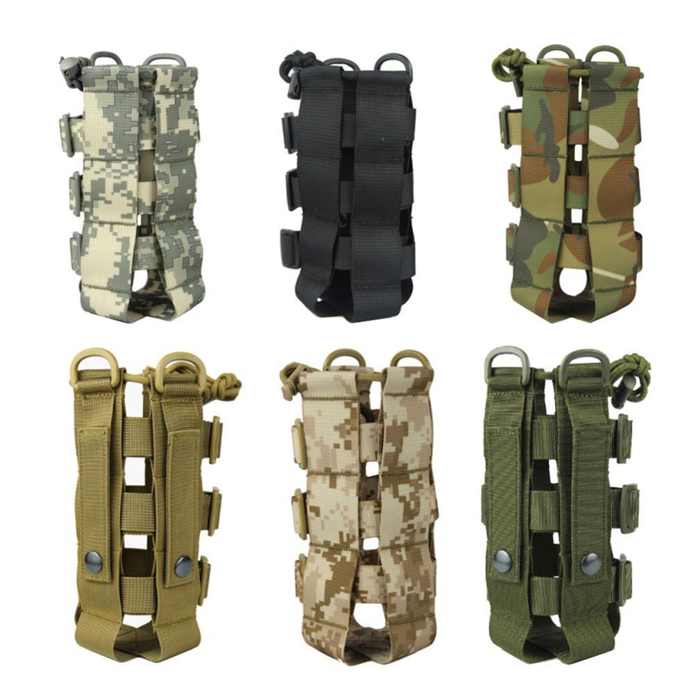 Многофункциональная военная сумка для чайника, спортивный Чехол для бутылки с водой от 0,5л до 2,5 л, для отдыха на открытом воздухе, Походов, К...