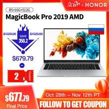 HUAWEI HONOR ordenador portátil MagicBook Pro, AMD Ryzen R5, 3550H, 16GB RAM/512G SSD/16,1 , IPS, 100% sRGBOrdenadores portátiles