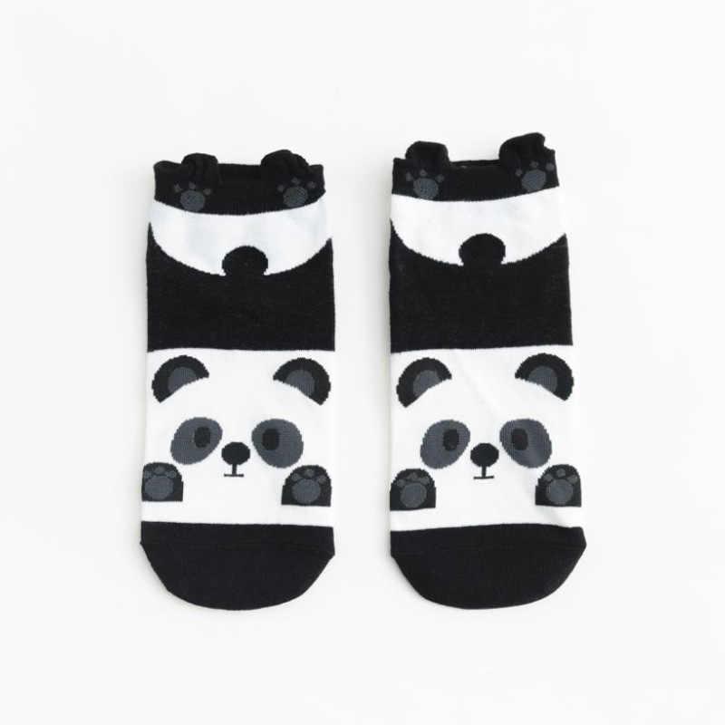 Panda Volpe Coniglio Vestiti Del Cane Autunno Inverno Animale di Modo di Trasporto Delle Donne Del Cotone Calzini E Calzettoni Casual Felice Divertente Calzini E Calzettoni Della Corea Harajuku Kawaii Carino Ragazze