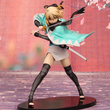 21cm Anime Fate Stay Night Fate KOHA-ACE Sakura Saber Okita Souji PVC Action Figure Model Doll Toys 2