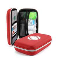 Camouflage First Aid Kit Wasserdichte EVA Tasche Person Tragbare Outdoor Reise Medikament Pack Sicherheit Notfall Kits Medizinische Behandlung