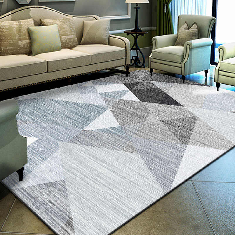Nordic Geometric Carpet Rugs For